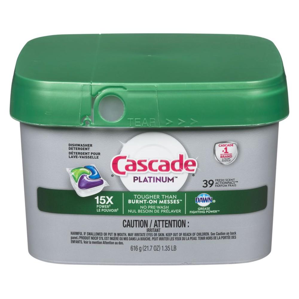 Platinum actionpacs fresh scent