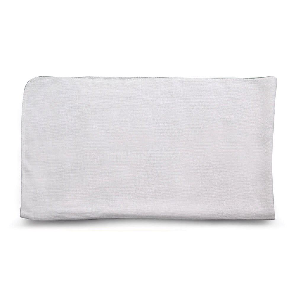 Kit de flanelas para limpeza branca ouro branco 28x48cm