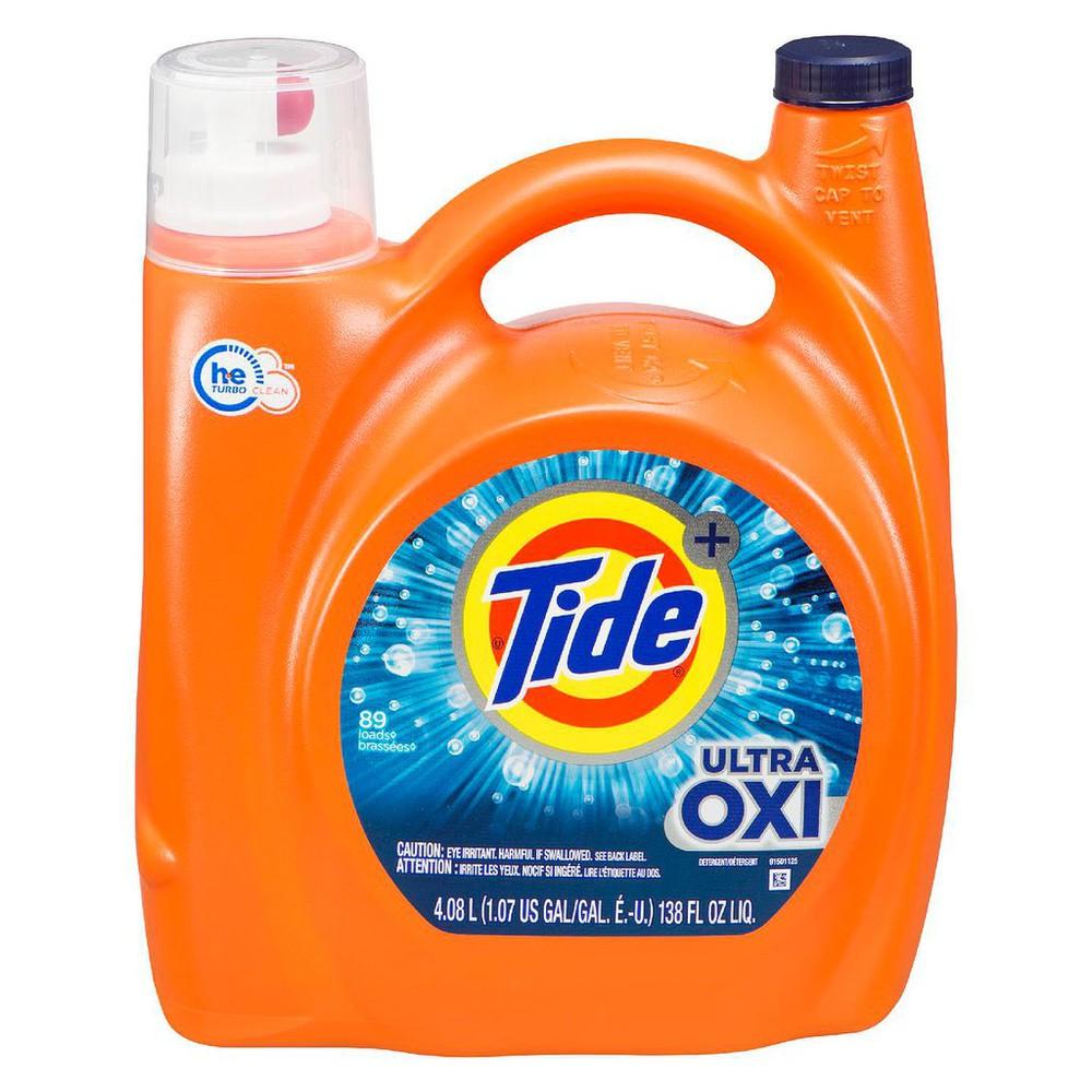 High Efficiency Liquid Detergent, Ultra Oxi