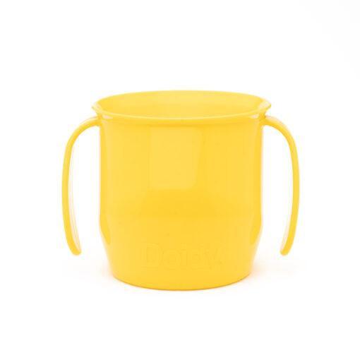 Vaso infantil de transición amarillo