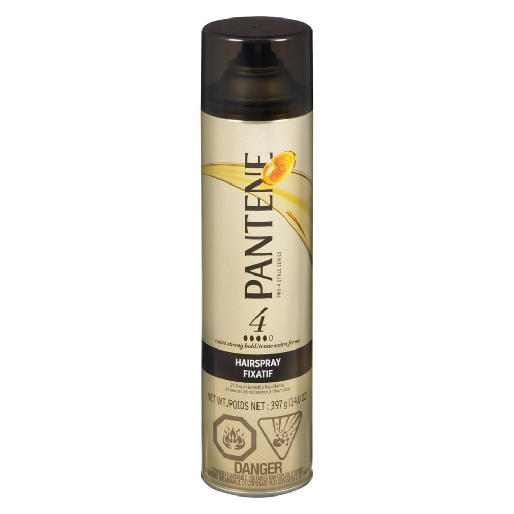 Pro-V stylers extra strong hold hair spray