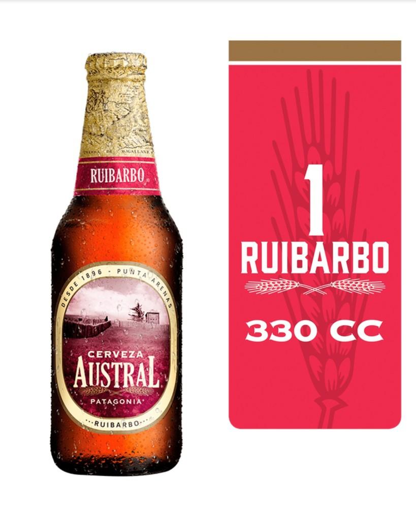 Cerveza ruibarbo