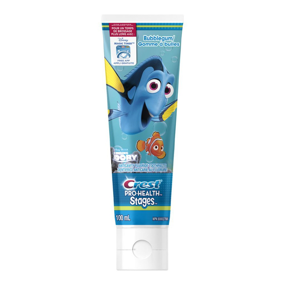 Pro-Health Stages Tooth Paste, Bubble Gum Finding Dora