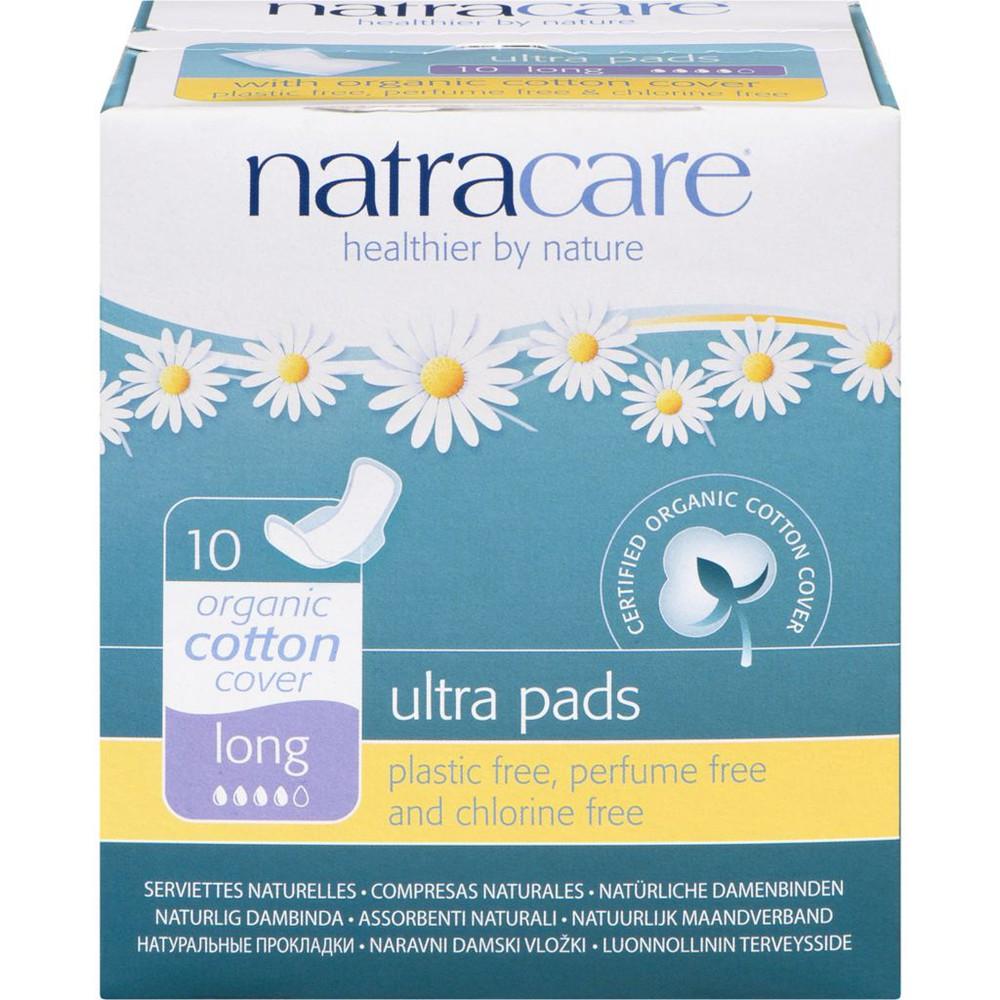 Natural Ultra Pads, Long