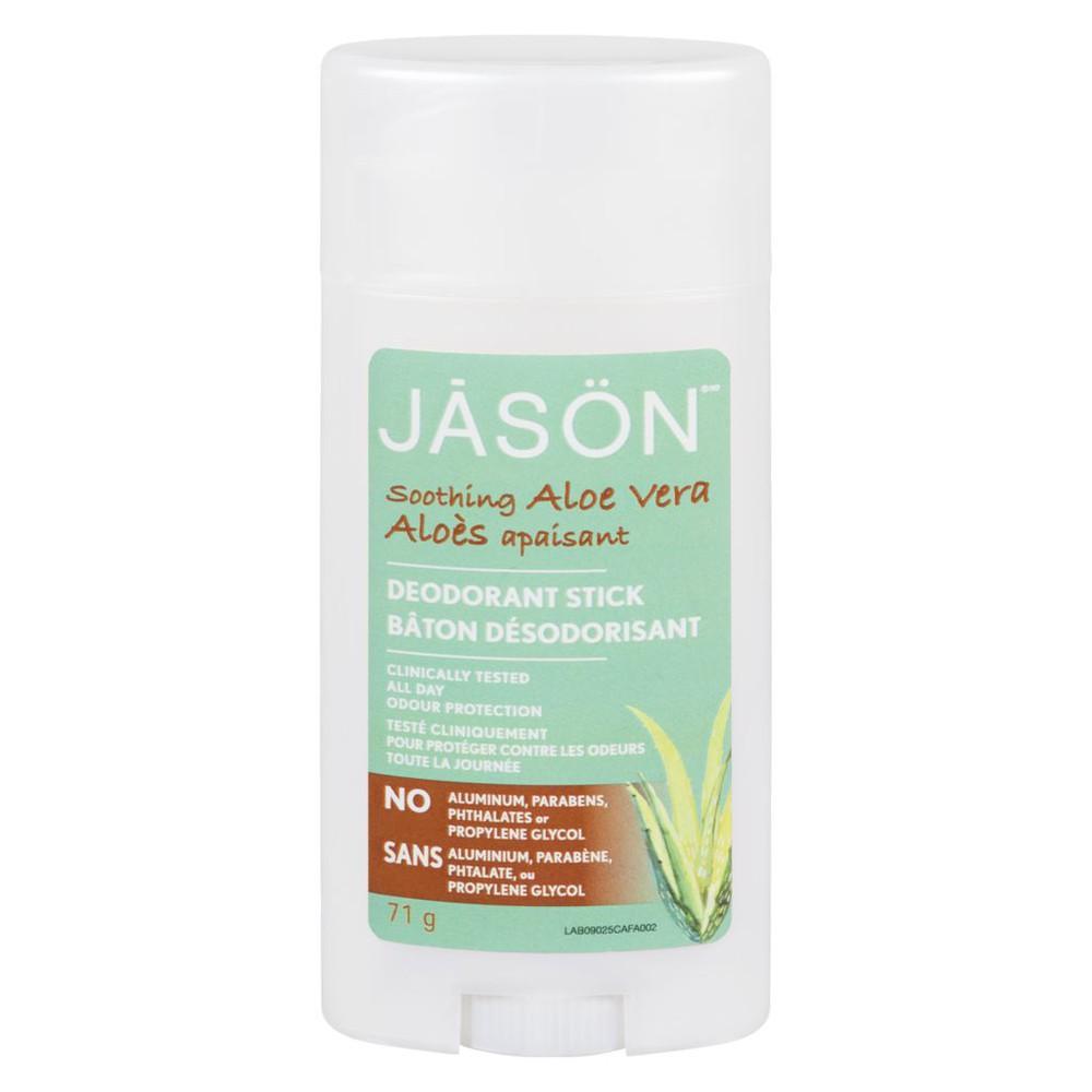 Pure natural deodorant stick soothing aloe vera
