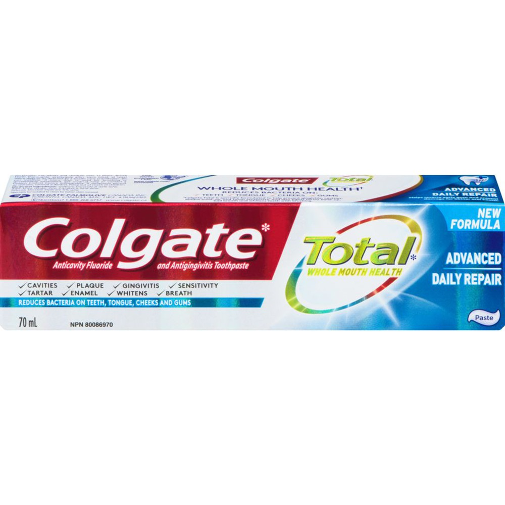 Toothpaste total advance daily repair