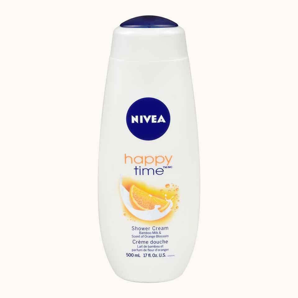 Care and Orange Body Wash Happy Time