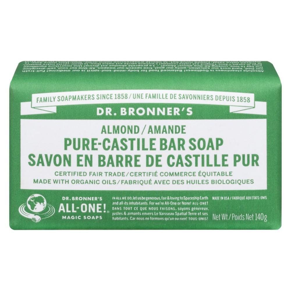 Almond pure-castille bar soap