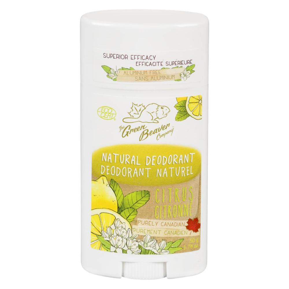 Citrus natural deodorant
