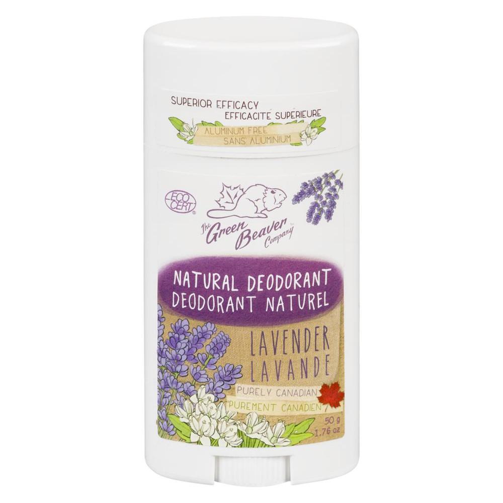 Green Beaver Natural Deodorant, Lavender