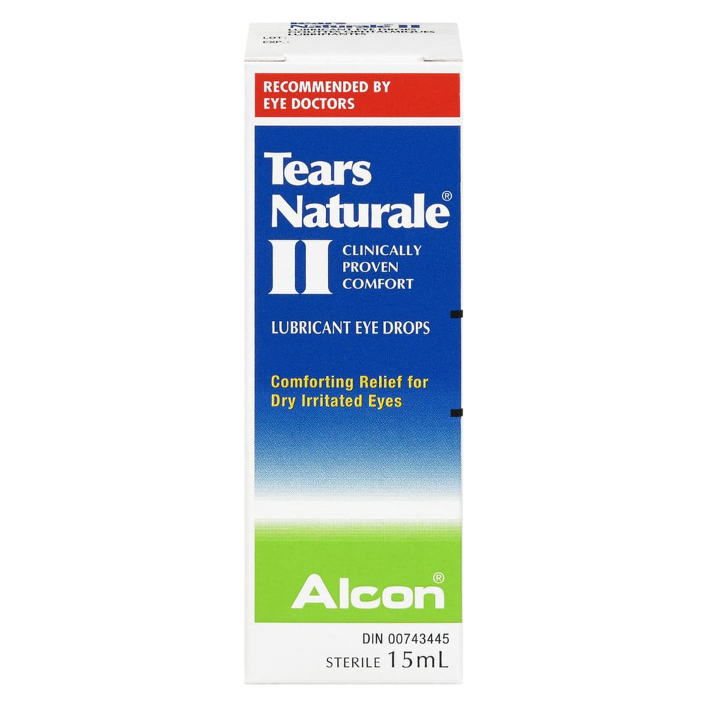 II lubricant eye drops