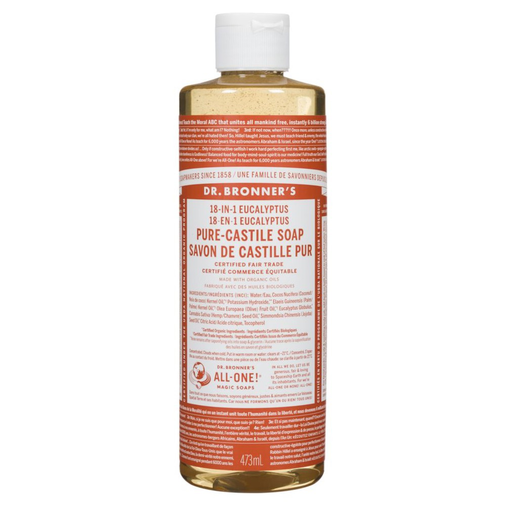 Eucalyptus pure castille soap