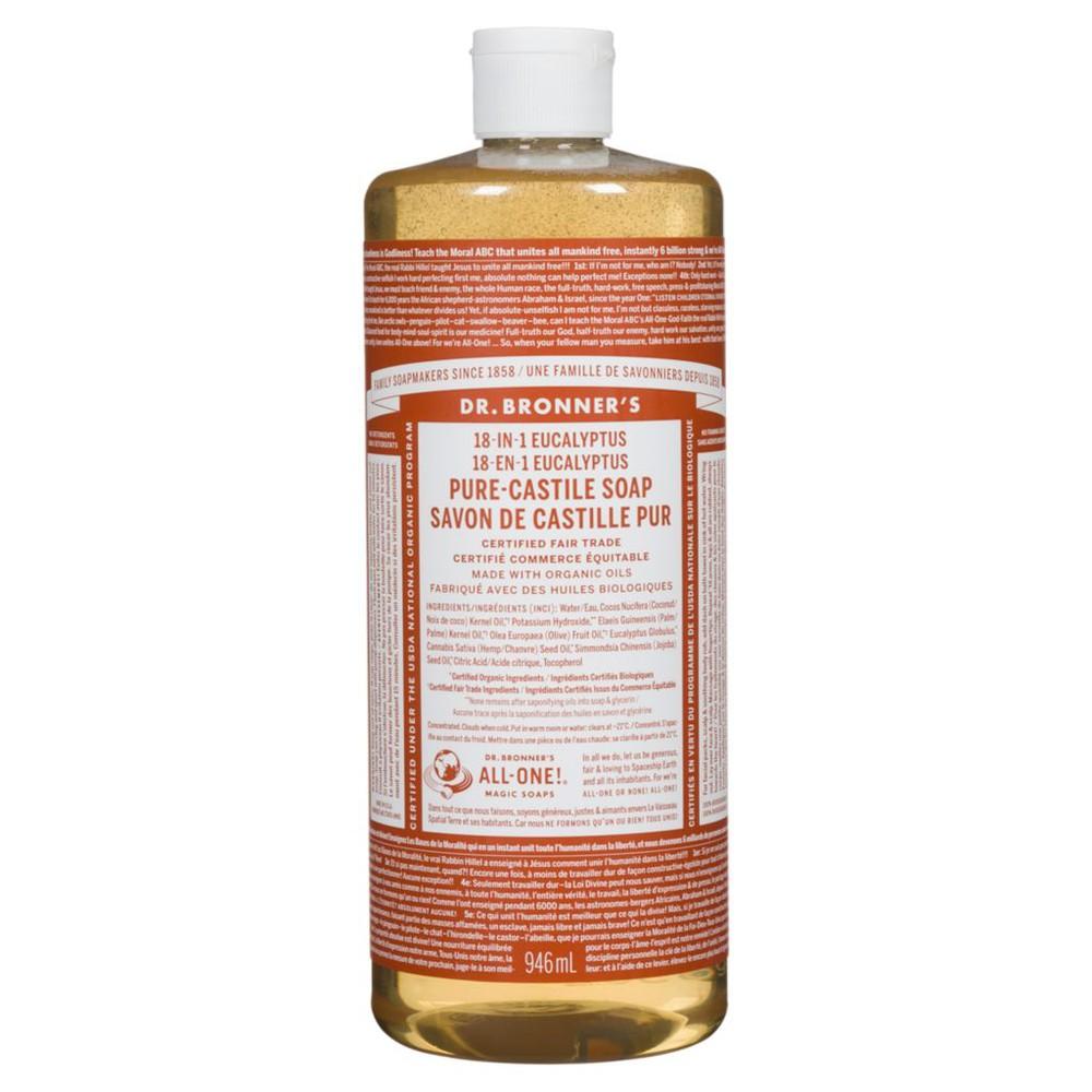 Pure castile eucalyptus soap