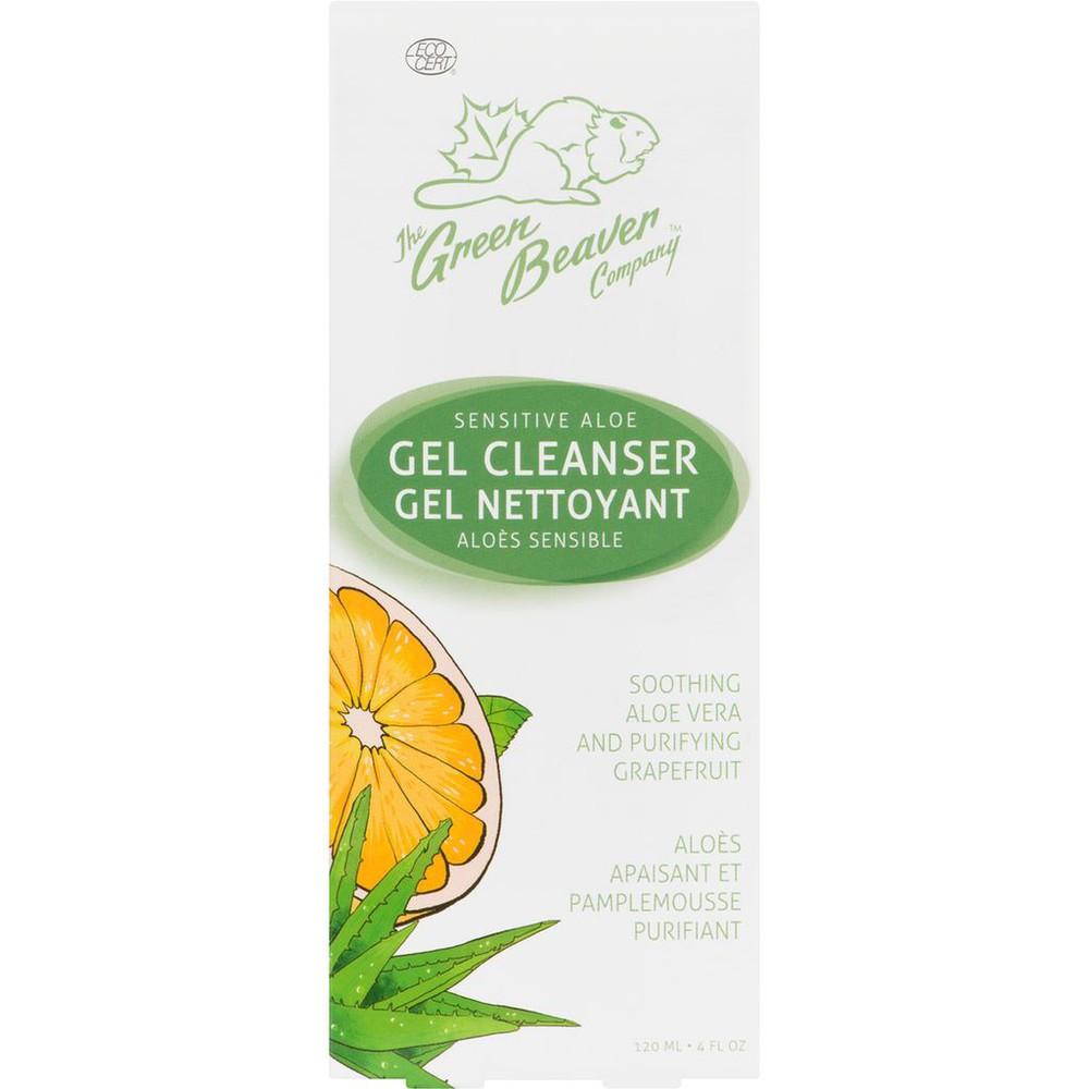 Sensitive aloe gel cleanser