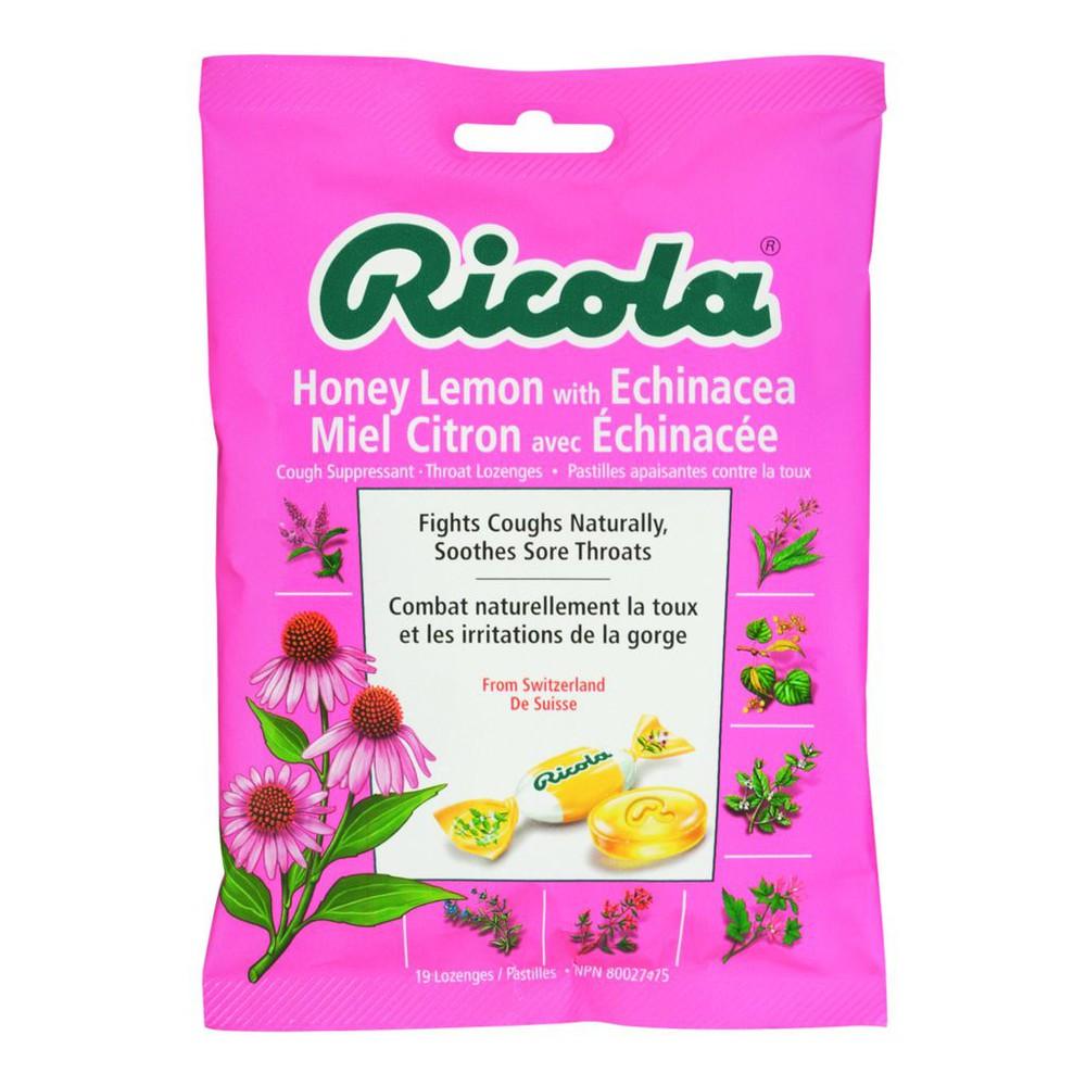 Throat Drops, Honey Lemon with Echinacea