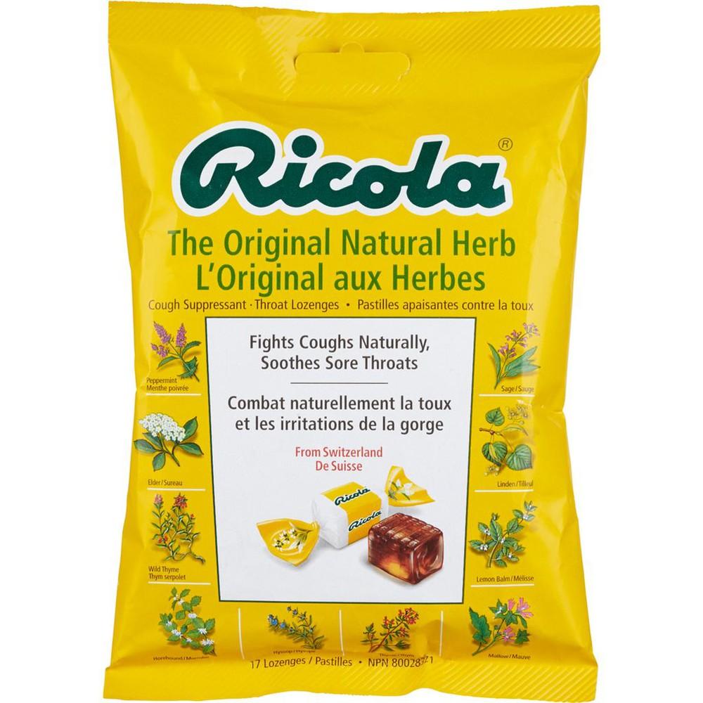 The Original Natural Herb Cough Drops