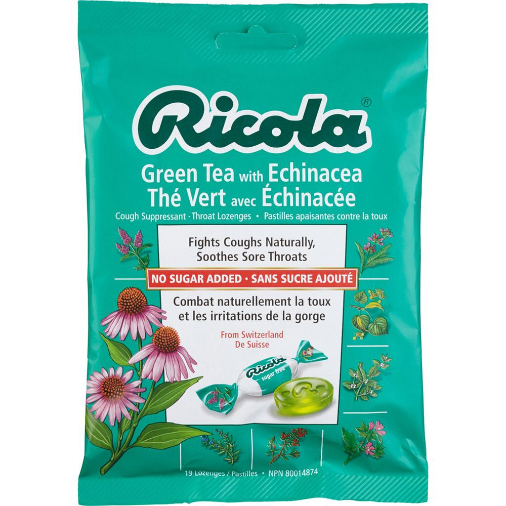 Throat Drops, Green Tea with Echinacea