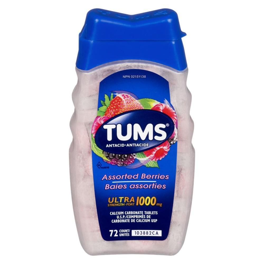 Ultra With Calcium, Assorted Fruit