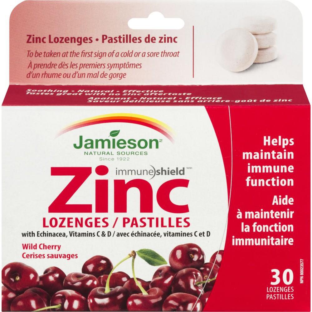 Zinc Lozenges, Wild Cherry
