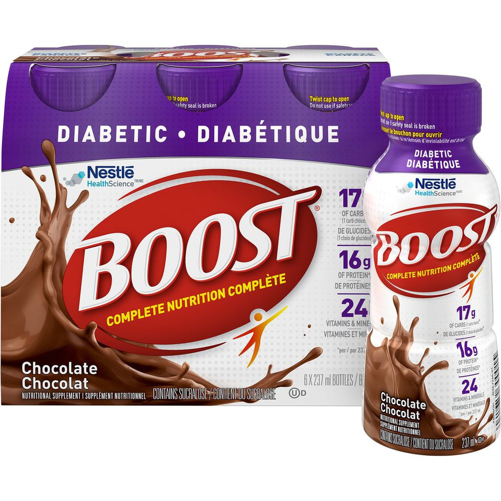 Diabetic Chocolate Nutritional Supplement Drink (Case)