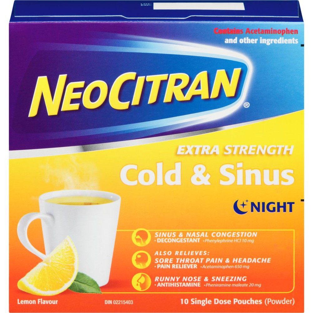 Extra Strength Cold & Flu