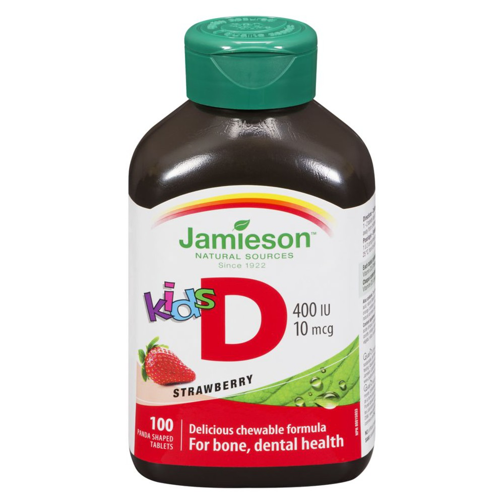 Kid's Chewable Vitamin D, Strawberry