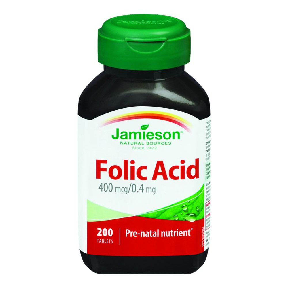 Folic Acid, 0.4mg