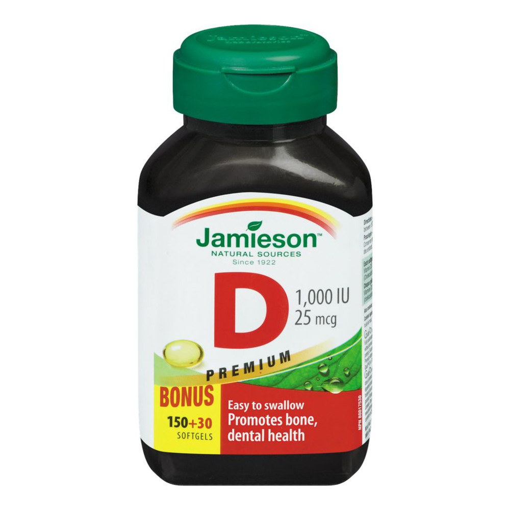 Vitamin D, Softgels