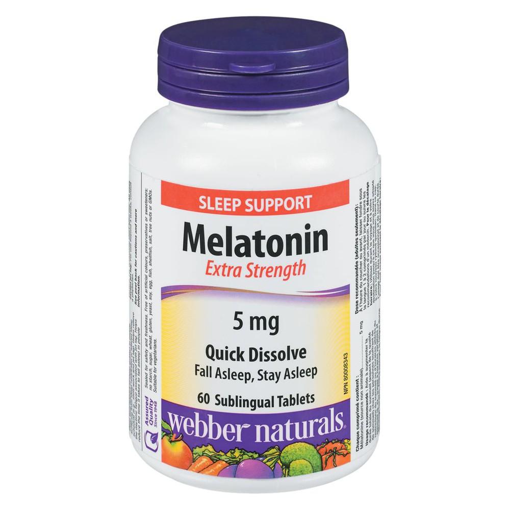 Melatonin, Easy Dissolve