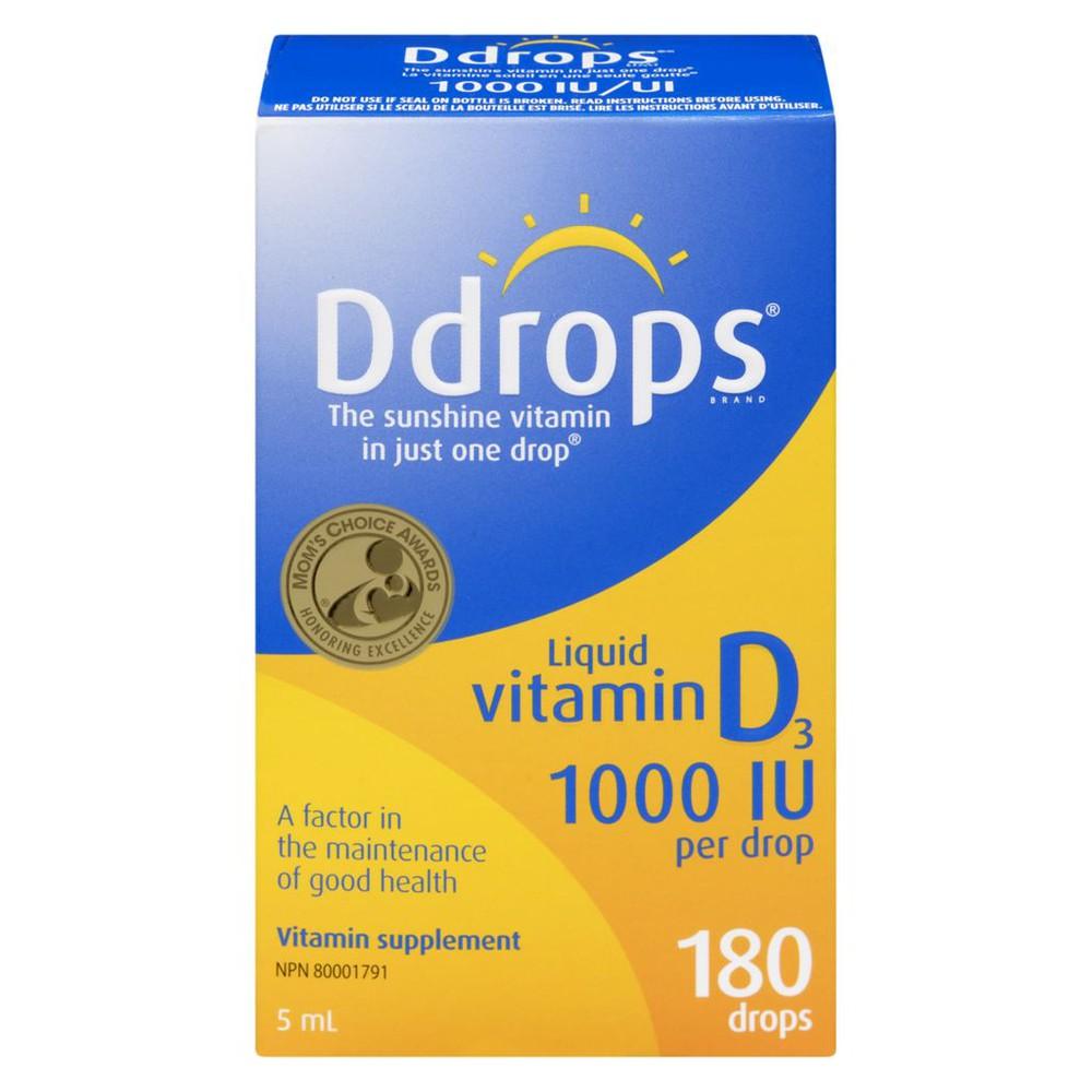 Vitamin D3 liquid 1000 IU