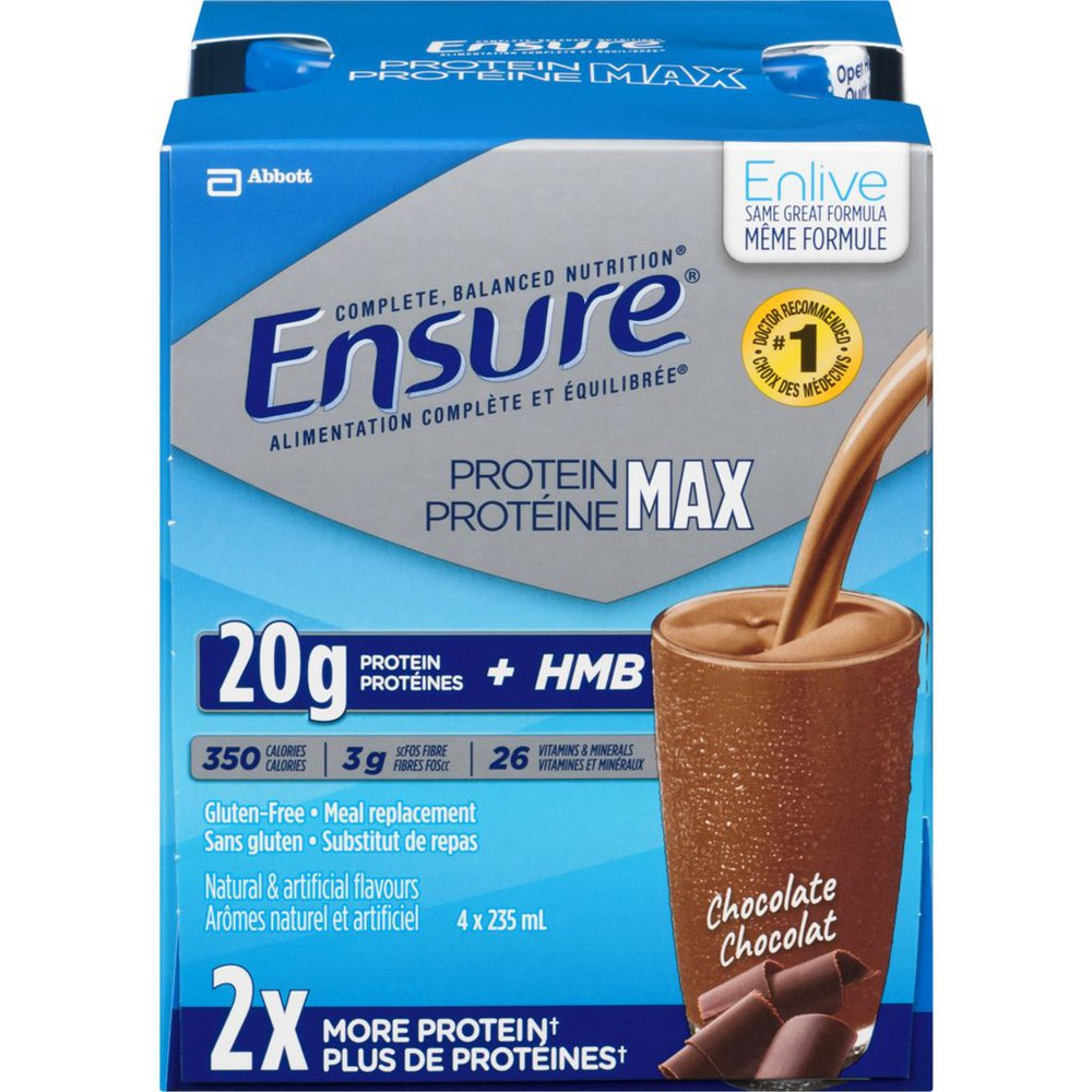 Enlive Advanced Nutrition Shake, Chocolate