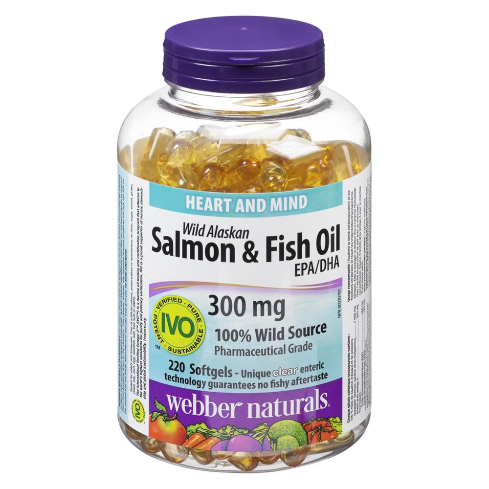 Wild Salmon & Fish Oils