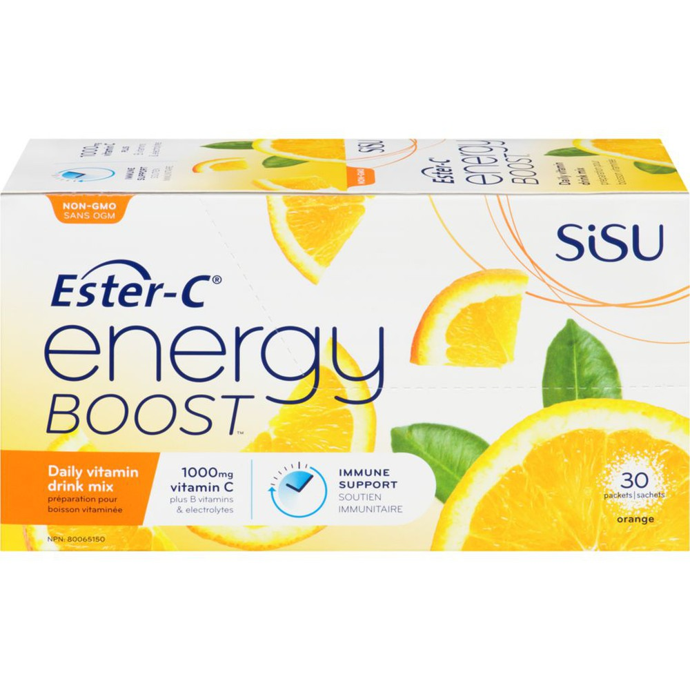 Organic To Go Ester-C Energy Boost Drink Mix