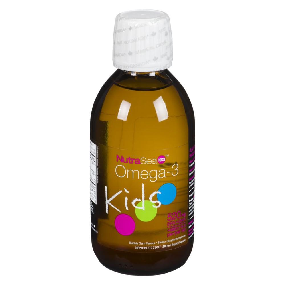 Kids omega-3 bubble gum flavour 520 mg