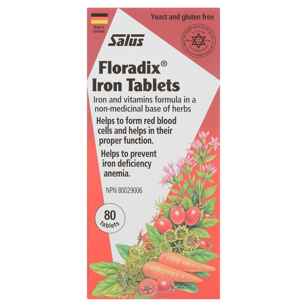 Floridix Liquid Iron Formula