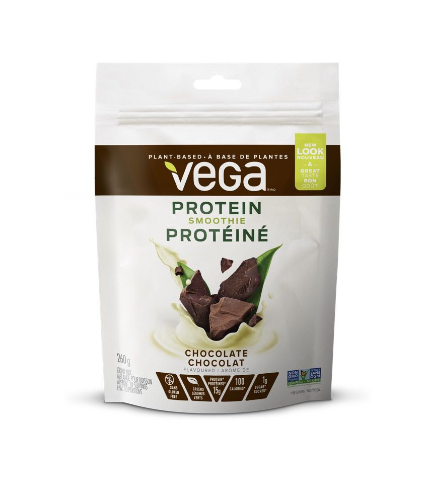 Chocolate plant protein smoothie