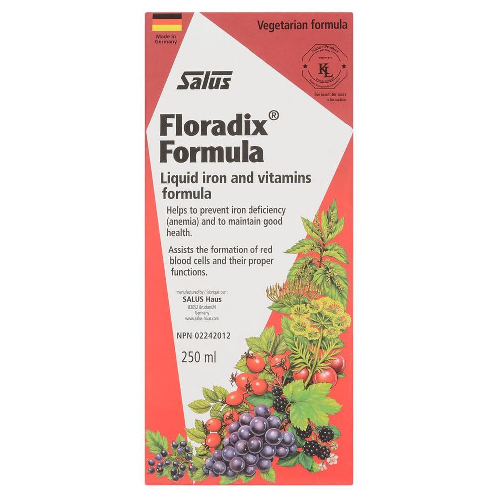 Floradix Liquid Iron Formula 250 mL