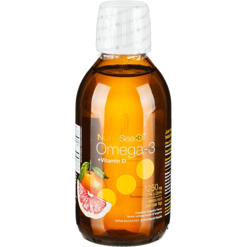 Omega-3 + vitamin D liquid 1250 mg