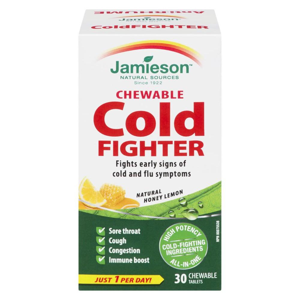 Chewable Cold Fighter natural honey lemon