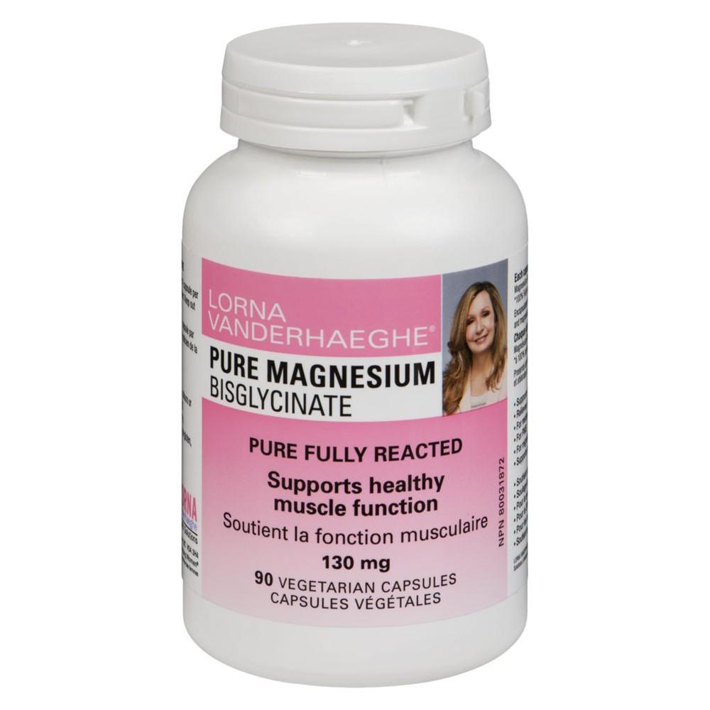 Magnesium bisglycinate vegetarian capsules 130 mg