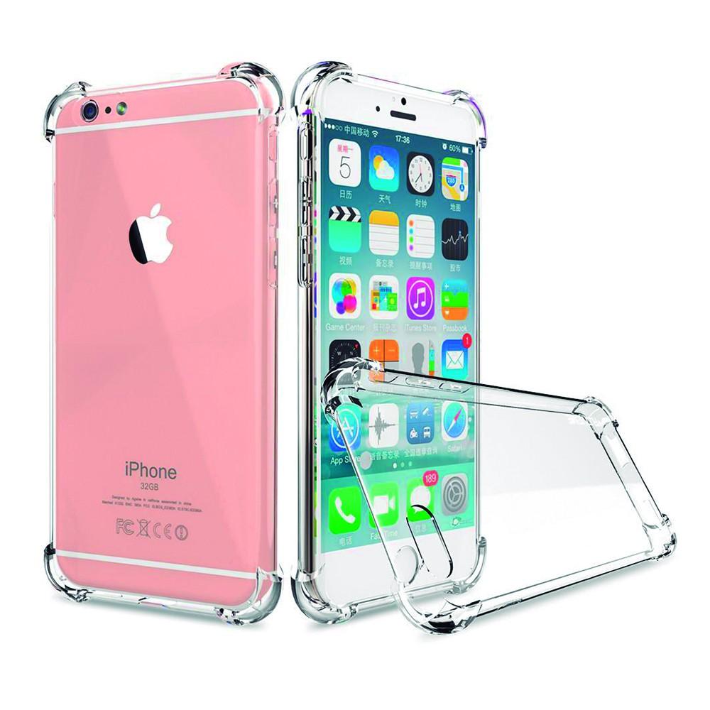 9ee33990e72 Carcasa trasparente para iPhone 6 plus con los bordes reforzados diseñado  para resistir caídas de hasta 2 metros Disponible en Smartech en Santiago  ...