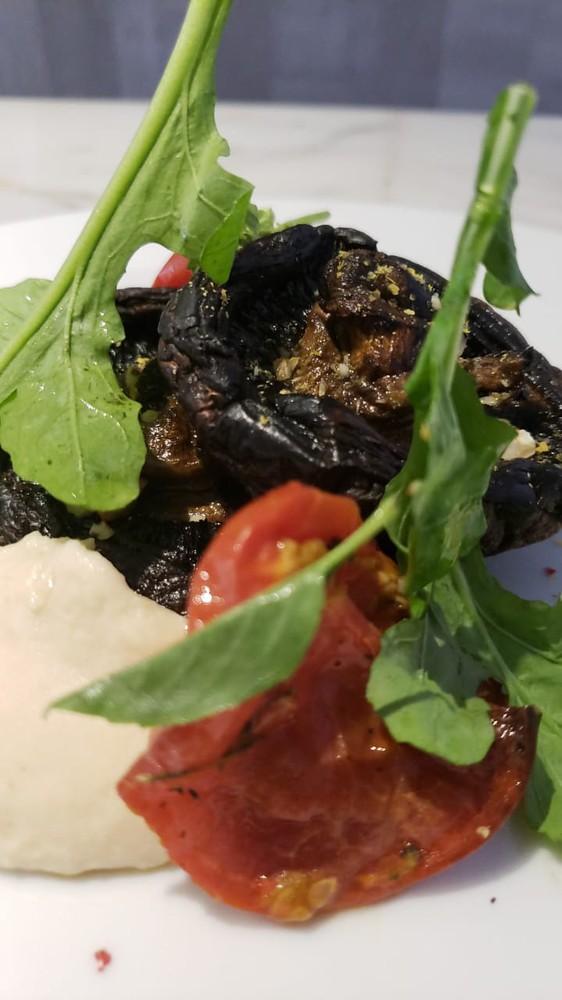 Portobello asado