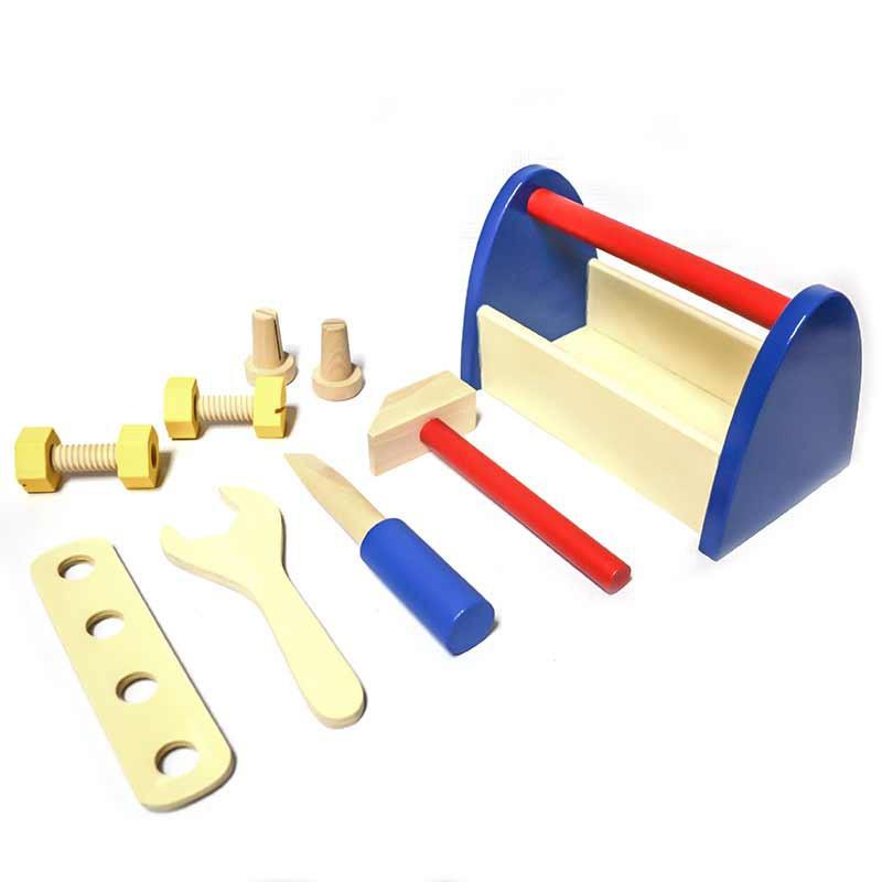 Caja de herramientas pequeña Caja de 22 x 14 x 12 cm. aprox.