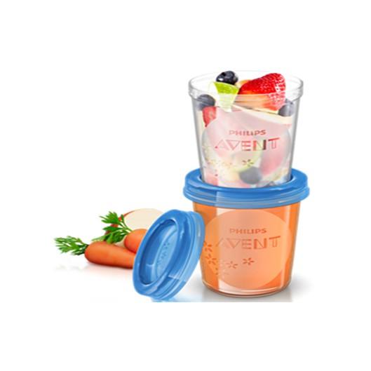 Set vasos para almacenar 240ml (5un) Caja