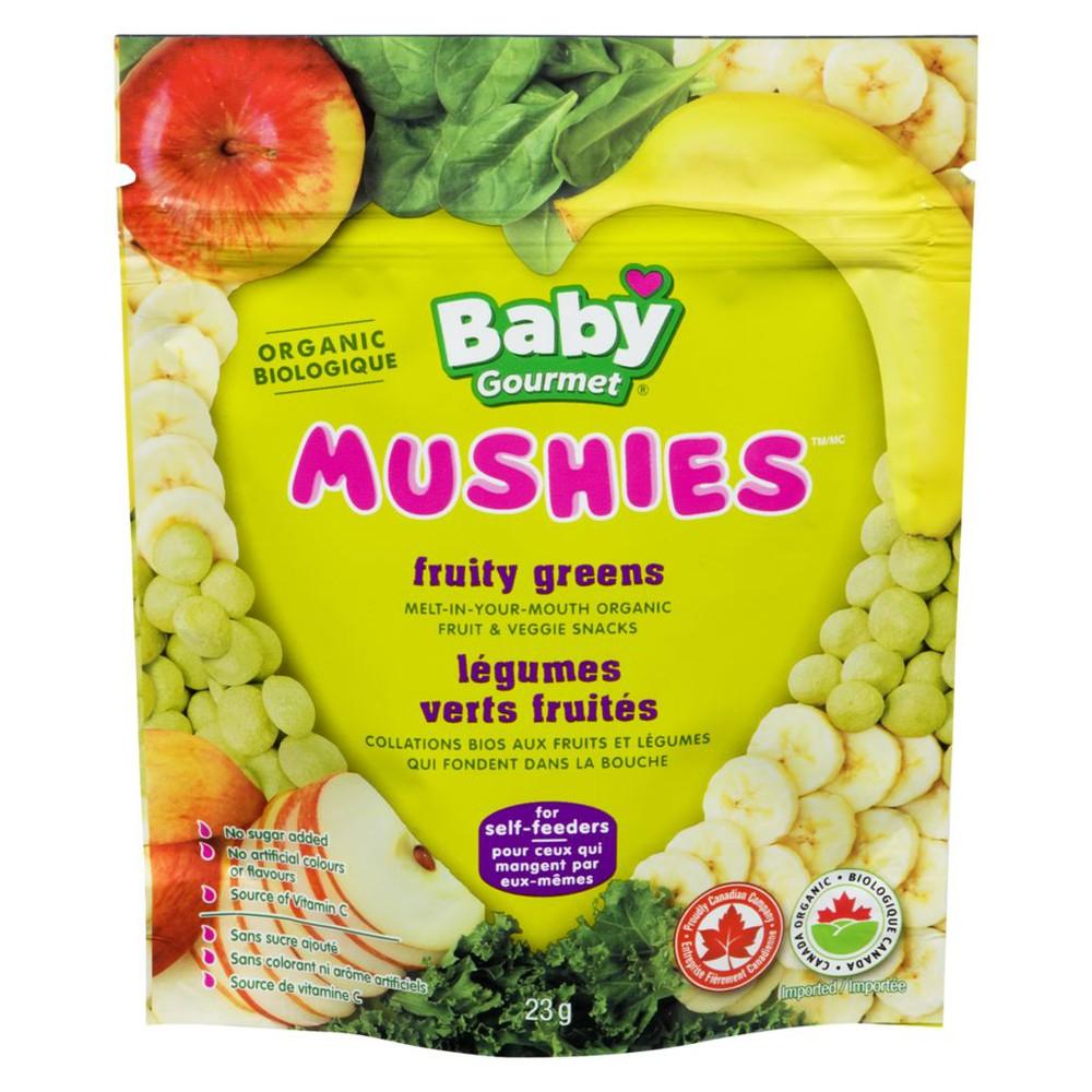 Mushies, Fruity Greens