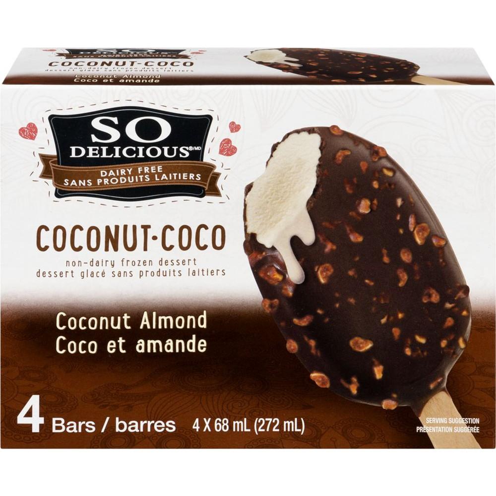 Coconut-coco almond bar 4 x 68 mL