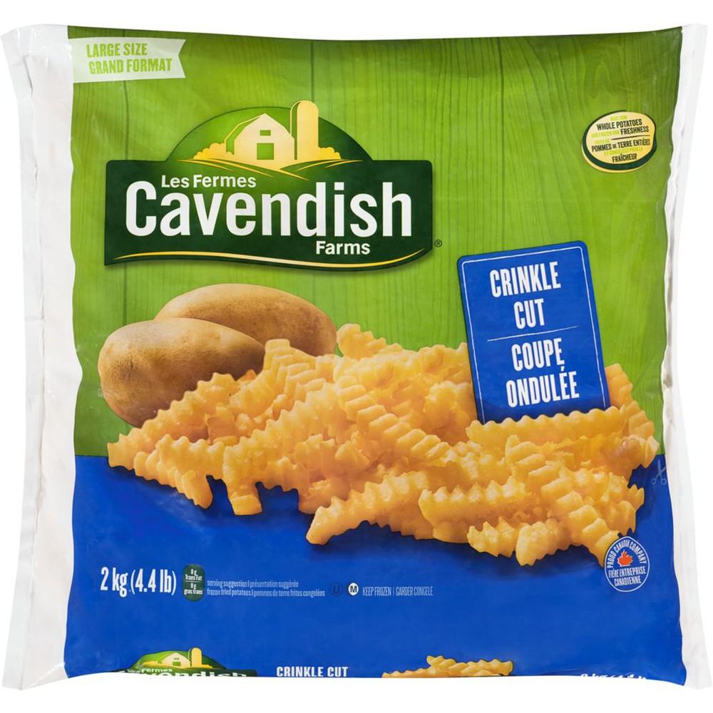 Crinkle cut fries classic club pack