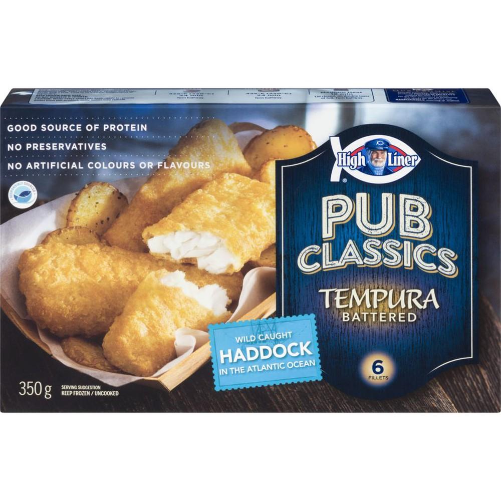 Fish In Tempura Batter, Haddock · Longo's · Cornershop · Groceries