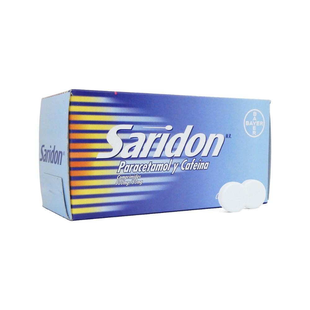 Paracetamol y cafeína comprimidos 500mg/50mg