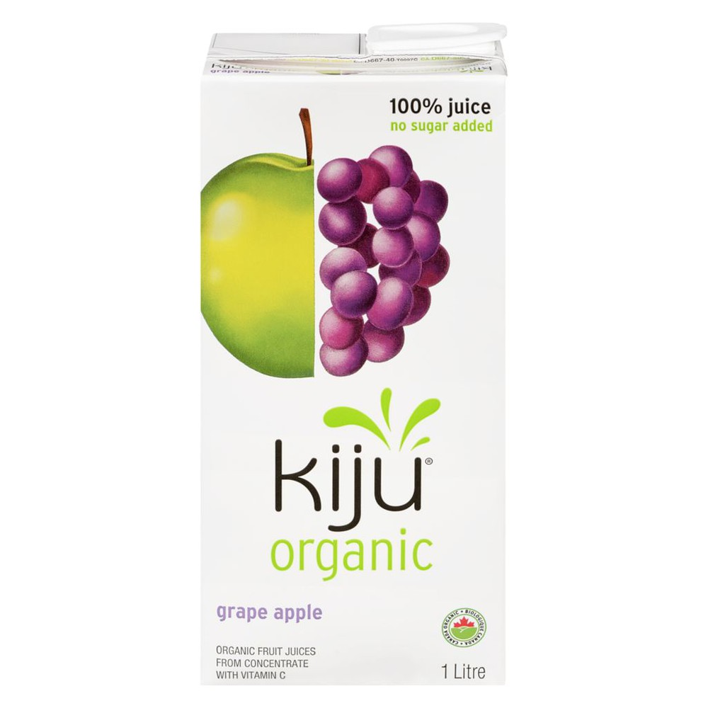 Organic 100% Grape Apple Juice